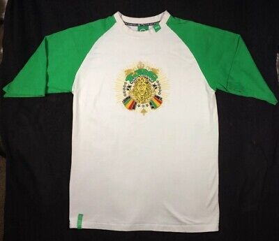 Used, Lrg roots and Equipment White Green Knits shirt XL men Embroidered LRG Lionshead for sale  Tulare