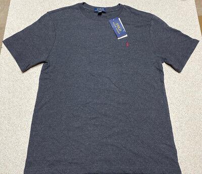 Kid's Ralph Lauren Polo Dark Grey Short Sleeve T-shirt Size Large 14/16