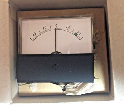 Jewell Instruments 0-center Meter - New In Box