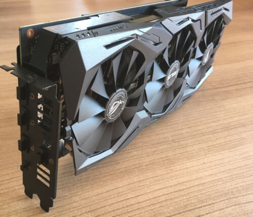 WOW ASUS GeForce RTX 2070 8GB STRIX Grafikkarte ROG-STRIX-RTX2070-O8G-GAMING