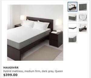 Haugsvar queen mattress (mattress only)
