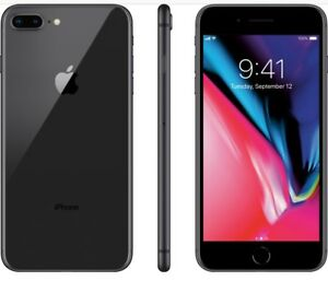 BRAND NEW OUT OF THE BOXES IPHONE 8plus black 64gb