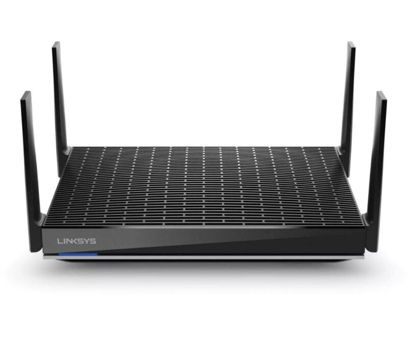 Linksys - Max Stream AX6000 Dual-Band Mesh Wi-Fi Router - Black‼️🌟✅SEALED✅