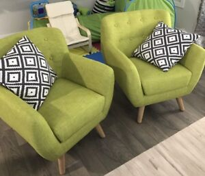 2 sofa chairs, new condition