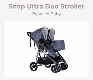 Valco baby ultra snap duo (double stroller)