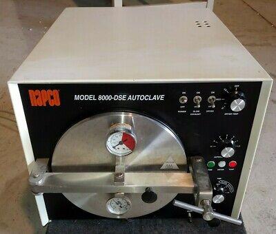 Napco 8000-dse Autoclave Slow Exhaust Sterilizer With Timer Drier Cat. 51220025