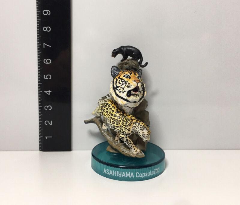 Kaiyodo Asahiyama Zoo Japan Exclusive Black Panther Tiger Leopard Figure Model