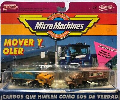 Micro Machines - Mover Y Oler #4 (Shake N' Sniff) - MINT IN SEALED PACK !!!