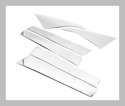 Stainless Steel Polished Pillar Posts Accent Covers for Chevrolet Impala 14-17