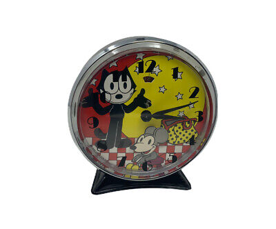 Vintage Felix The Cat Alarm Clock..!! RARE..!!