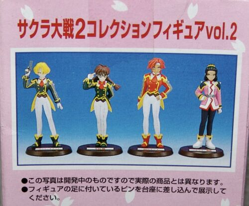 NEW SEGA Sakura Wars 2 Collection Figure Vol.2 Complete Set of 4    USA SELLER