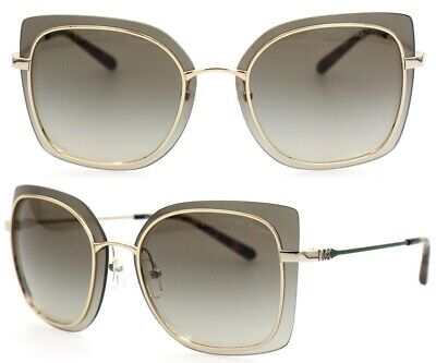 Michael Kors Damen Sonnenbrille MK1040 10148E 62mm Phuket gold Vollrand MK10 H