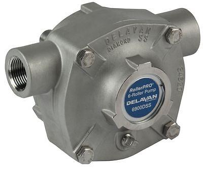 6 Roller Pump - Delavan 300 Psi 19.6 Gpm Ds Ccw