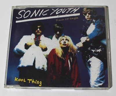 Sonic Youth KOOL THING 5 inch CD single 1990 France Germany  used