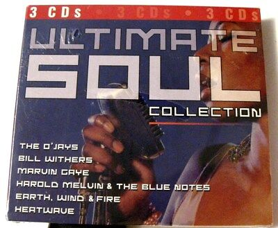 - VARIOUS : ULTIMATE SOUL COLLECTION (3 disc, 30 tracks) (CD) new sealed 079892744