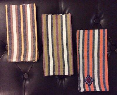 Striped Napkins (4 Guatemalan Fair Trade Handwoven Cotton Multi Colored Striped Napkins)