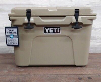 Yeti 35 Qt   Tundra   Cooler    Tan       New In The Yeti  Box