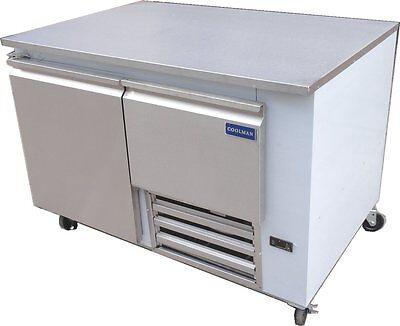 Coolman Commerical 1 Door 1 Drawer Low Boy Worktop Refrigerator 48