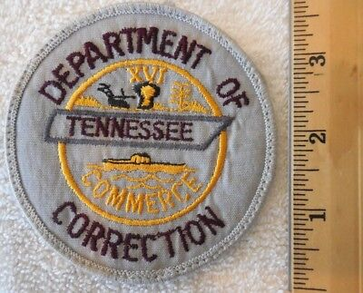 TENNESSEE DEPARTMENT OF CORRECTION PATCH (FIRE, HIGHWAY PATROL, EMS)