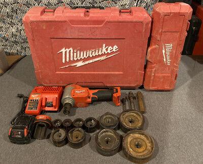 Milwaukee 2676-22 M18 10 Ton Knockout Tool W Knockout Set 49-16-2695