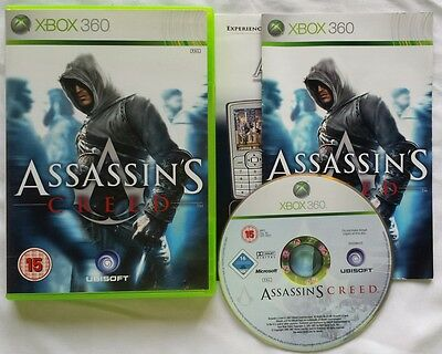 Microsoft XBOX 360 ASSASSIN'S CREED 1 2 & 3 w/ BONUS Lineage German PAL Versions for sale  Shipping to India