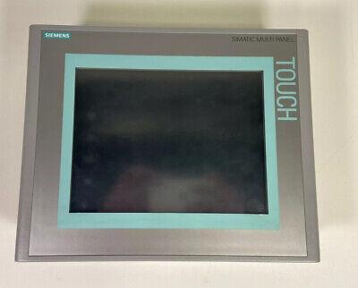 Siemens Mp277 10in Touch 6av6 643-0cd01-1ax1