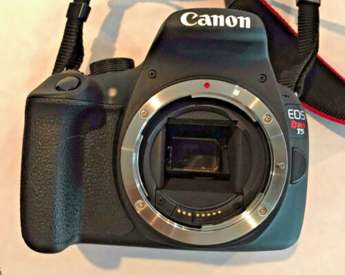 Canon Rebel EOS T5 Camera Body W/ Batteries, Chargers.