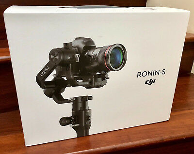 New DJI Ronin S Gimbal Stabalizer Factory Sealed - Ready to Ship