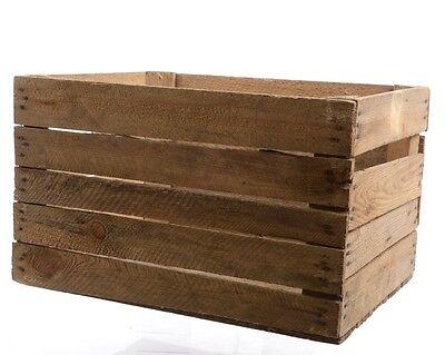 Holzkiste Vintage Obstkiste Apfelkiste Weinkiste Aufbewahrungsbox Regal Tisch