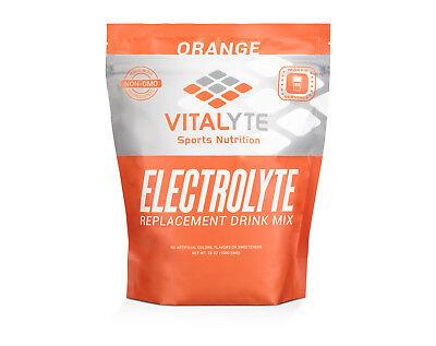 Vitalyte Electrolyte Powder Sports Drink Mix, 80 Servings - Orange SHIPS FAST!