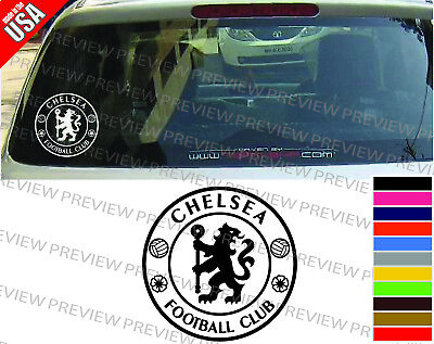 CHELSEA  SOCCER FOOTBALL CLUB cool Decal Car Truck Window bumper color -
