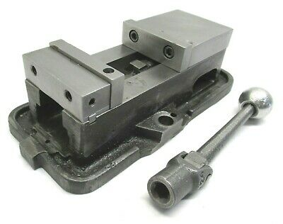 Kurt Anglock 3 Milling Machine Vise W Jaws Handle - D30