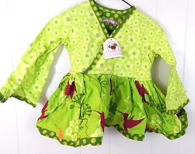 GYMBOREE SHORE TO LOVE PINK w// BIRDS KNIT FLEECE DRESS 6 12 18 24 2T 4T NWT