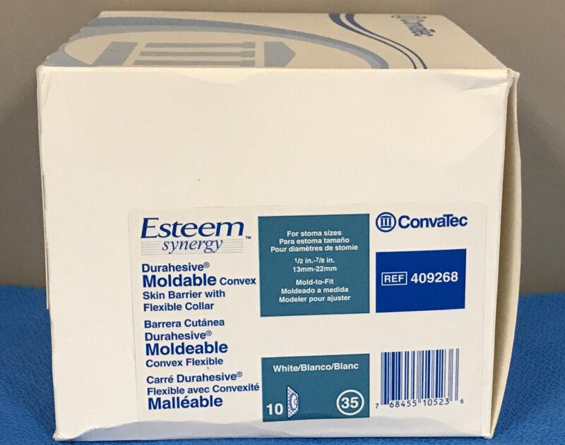 ConvaTec 409268 Esteem Moldable Convex Skin Barrier w/ Flexible Collar - box/10