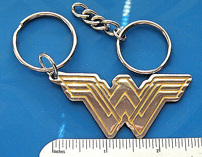 Additional Chain - WONDER WOMAN - keychain / comes with additional heavy duty key chain  GIFT BOXED