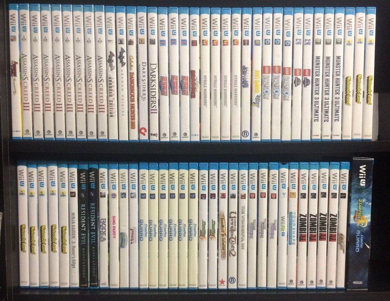 Nintendo Wii U Games Complete Fun Pick & Choose Video Games Mario