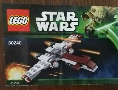Lego Star Wars Z-95 Headhunter Complete with instructions.