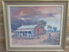 Don Gangell, old cottage Oil on Board in beautiful ornate frame Prospect Prospect Area Preview