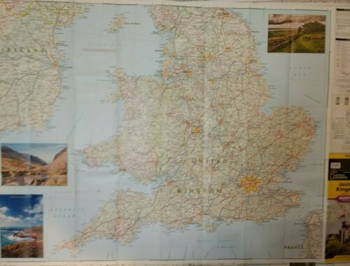 United Kingdom Laminated Wall Map (K)