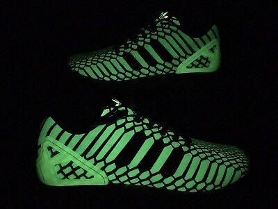 664ebd400884d Adidas Originals ZX Flux Glow in the Dark Shoes XENO 3M Mens SIZE 9.5 AQ8212