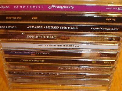 (11) CD Lot Morningwood Electric Six Arcadia Onerepublic Wiz Khalifa The Corrs