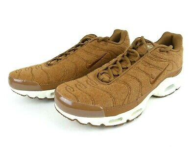 25870f2ed98 Nike Air Max Plus Quilted Mens Size 12 Ale Brown Sail Running Shoes  806262-200