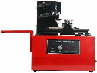 Electric Pad Printer Printing Machine T-shirt Ball Pen Desktop Press Oil Ink1688