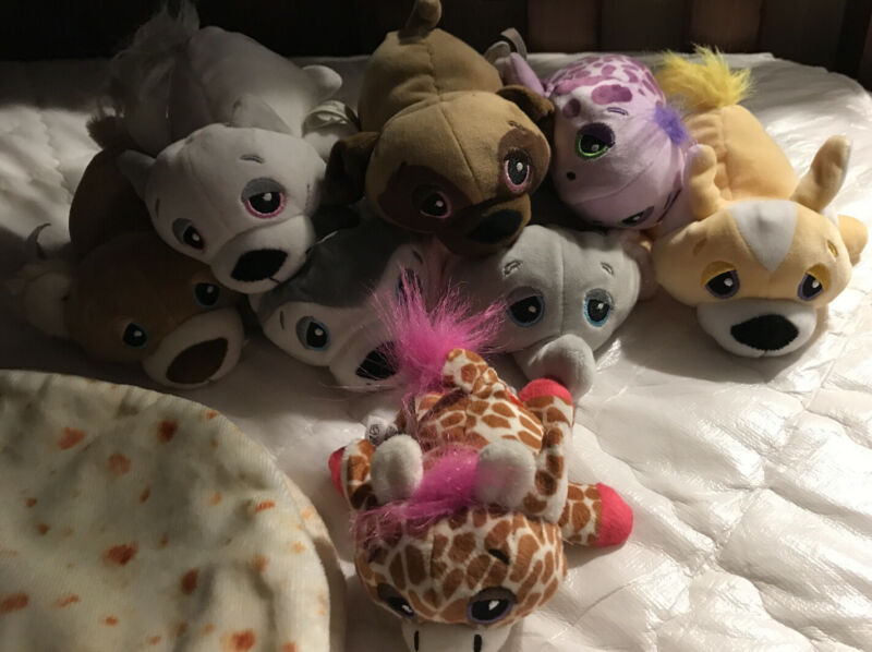 Cutetitos - Mystery Stuffed Animals - Collectible Plush Lot Of 8 With 4 Butritos