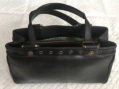 GianniVersace Leather MedusaSmall Purse Bag Estate *