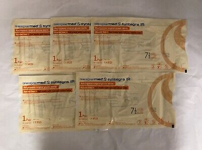 Sempermed Sir750 Syntegra Ir Surgical Gloves Size 7.5 - 5 Pairs
