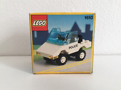 LEGO Vintage 1610 Classic Police Car Rare CHINA AIRLINES EXCLUSIVE Sealed Set
