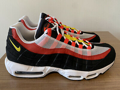 NIKE AIR MAX 95 ESSENTIAL KETCHUP TRAINERS UK5.5, ,US6, EUR38.5, AT9865 101 NEW