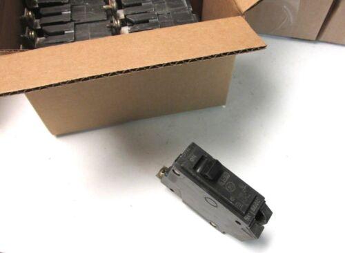 GE Bolt-On Circuit Breakers 15A, 1P Cat# THQB1115 (Box of  8) ... YB-402