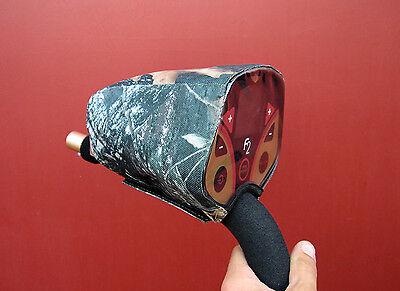 Dust dirt  rain cover for a Fisher F2/F4/F5 metal detectors(black or wood camo)